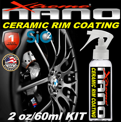 $21.95 • Buy CERAMIC CAR COATING Si02 RIM & WHEEL PROTECTION DUST BRAKE RESISTANT