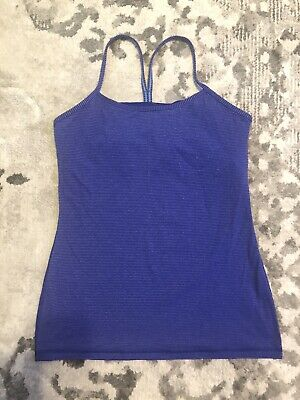 $ CDN9.25 • Buy Lululemon Size 10 Racerback Tank  Top With Built In Bra
