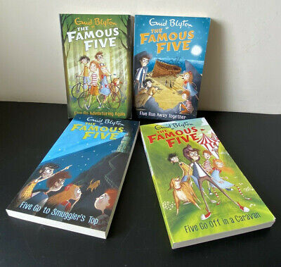 £12.74 • Buy Set Of 4 The Famous Five By Enid Blyton Paperback Books