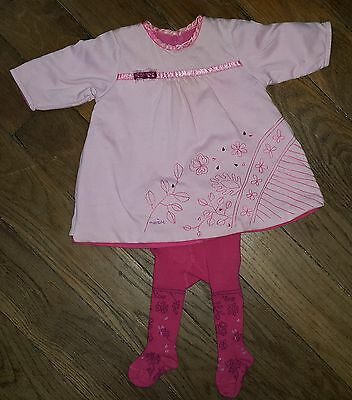 Dress Pink Claire With Tights Pink Dark MARESE 1 Month • 23.97£