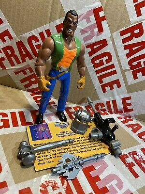 Very Rare Complete & Vgc Biker Mice From Mars Four-by Action Figure • 595£