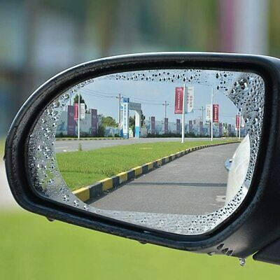 2x Car Anti-fog Rainproof Sticker Side Mirror Window Protective Film Rain Shield • 3.29£