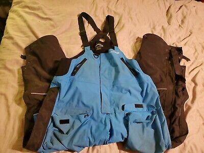 $75 • Buy Mens Ice Armor By Clam Fishing Bibs Large