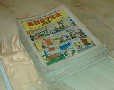 28 Issues 1972 Buster And Jet Comic Collection Joblot Will Split Individually • 28£