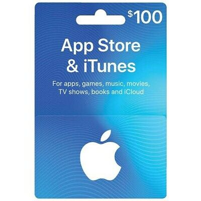 AU135 • Buy Apple App Store & ITunes Gift Card - $100 (Brand New)🔥🔥