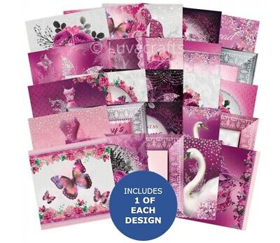 Hunkydory The Square Little Book Of Rose Quartz Dreams 5 X5  Sample Pack 25x • 2.99£