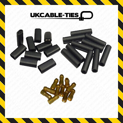 Mix Uninsulated Brass Bullet Connectors 4.7mm Lucas Type Electrical Terminals • 4.57£