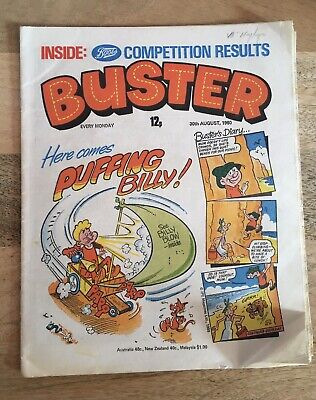 Buster Comic 30th August 1980 • 2£