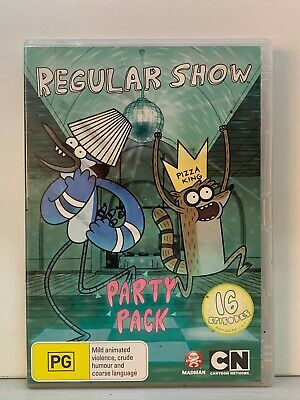 DVD - Regular Show : Party Pack - FREE POST #P2  • 4.05£