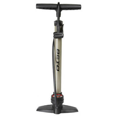 NEW Beto Metal Floor / Track Pump With Pressure Gauge And Fits All Valves  • 22.98£