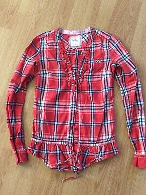 Hollister XS Checked Ladies Shirt • 4£