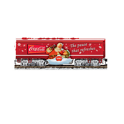 COCA-COLA Through The Years Express Train Car W/ 16-piece Track & Power Pack • 77.18£