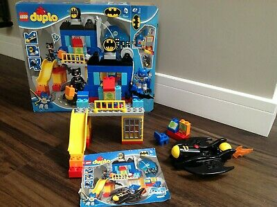 Lego Duplo 10545 DC Comics Bat Cave Adventure With Batman And Cat Woman • 22£