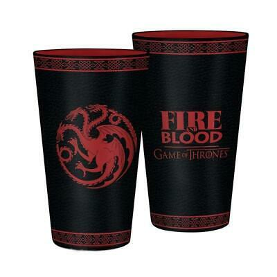 £17.50 • Buy Game Of Thrones Targaryen Fire And Blood Glass