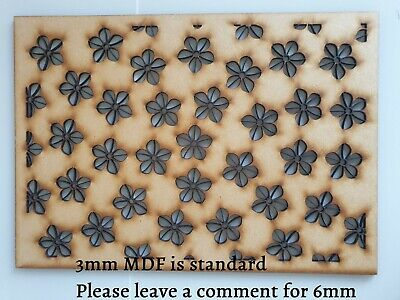 £15 • Buy A3 Flowers Decorative Cabinet Screen Panel MDF Pattern Stencil #7