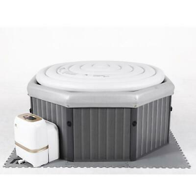 Mspa Frame Tuscany Bubble Spa 6 Persons Hot Tub Quick Heat Jacuzzi Holiday Fun • 1,399.99£