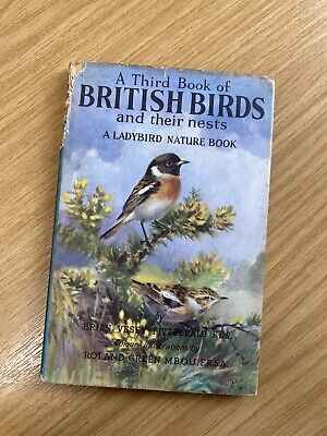 Vintage Ladybird Book Nature British Birds Pictures Collage Retro Collectable • 3.30£