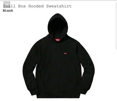 $ CDN265.35 • Buy SUPREME SMALL BOX LOGO HOODED SWEATSHIRT (BLACK) (LARGE) SS20 100% Authentic