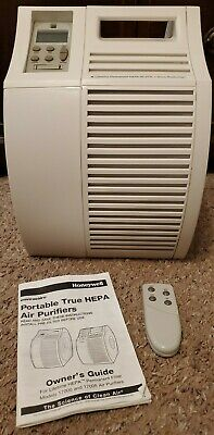 Honeywell 17005 Portable True HEPA Electronic Air Purifier With Remote & Manual  • 46£