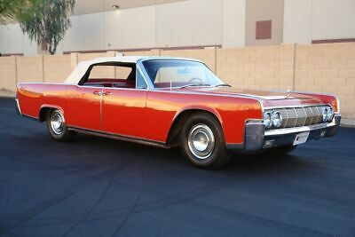 $44950 • Buy 1964 Lincoln Continental  1964 Lincoln  Continental, Red With 11130 Miles Available Now!