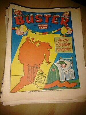 52 X 1978 Buster And Monster Fun Comic Complete Year 1978 • 44£