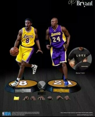 $495 • Buy 🏀 Enterbay NBA Collection Kobe Bryant 1:6 Scale Real Masterpiece - LA Lakers 🏀