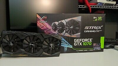 $ CDN220.01 • Buy ASUS Rog STRIX GeForce GTX 1070 8GB Gaming GPU