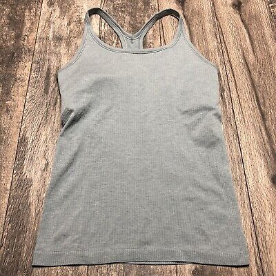 $ CDN52.78 • Buy Lululemon Tank Top With Built In Bra Blue Color Size 10