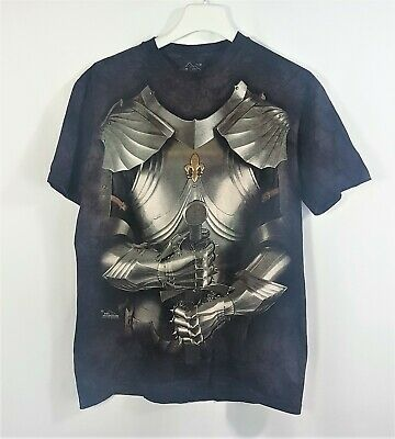 £14.95 • Buy The Mountain Dyed Short Sleeve T Shirt Size M Medieval Suit Of Armour Knight