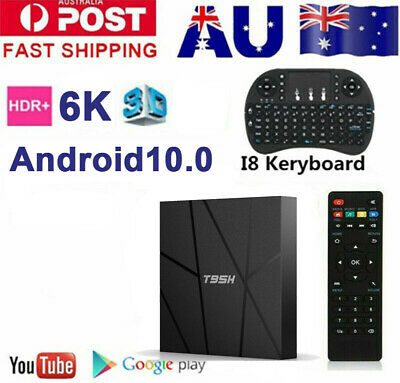 AU54.89 • Buy 5G MXQ PRO 4K QuadCore DUAL-WiFi  3D Smart TV Box Media Player Android 9.0 HDMI