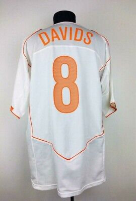 Netherlands 2004/2006 Away Football Shirt Soccer Jersey Holland Trikot #8 Davids • 109.95£