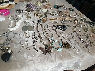 Massive Jewellery Joblot Vintage Modern Some 925 & Links London Other Good Makes • 0.99£