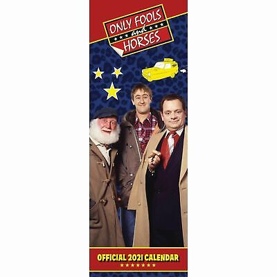 Only Fools And Horses Official 2021 Slim Calendar FREE UK P&P • 8.95£