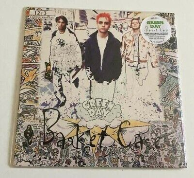 Green Day‎ Basket Case 7  Green Vinyl 1994 1st Press Numbered 1213 W0257 • 28.99£