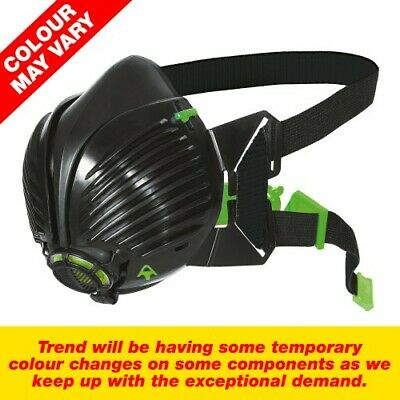Trend Air Stealth Apf20 P3 Half Mask Inc Hepac Filters • 24.99£