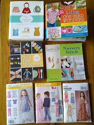 Bundle Of Baby/child Sewing Patterns (paper & Books), V Good Condition • 2.99£