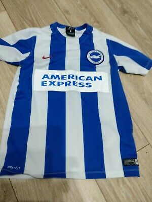 Brighton And Hove Albion Football Shirt 8-10 Years • 1.45£