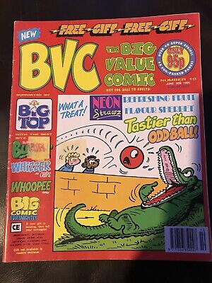 BVC Big Value Comic Number 10 June 30th 1995 99p Start Price Beano Dandy Buster • 0.99£