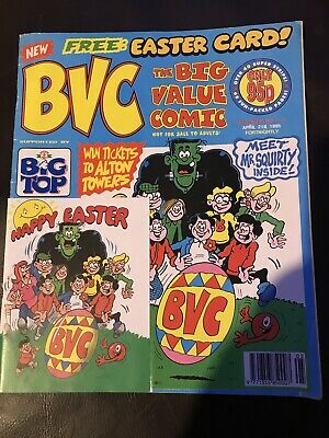 BVC Big Value Comic Number 5 April 21st 1995 99p Start Price Beano Dandy Buster • 0.99£