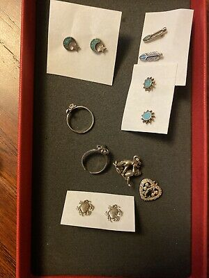 $ CDN32.96 • Buy Sterling Silver Mixed Jewelry Lot Dolphin Almost 12 Grams