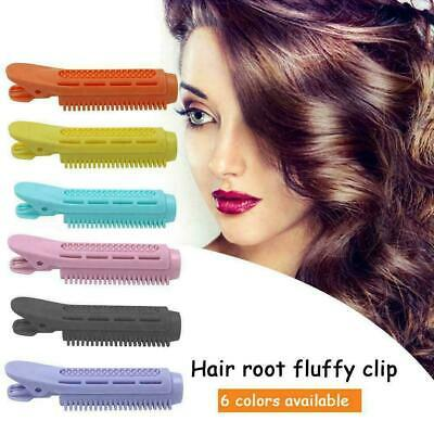 6PCS Volumizing Hair Root Clip Curler Roller Wave Fluffy Clip Styling Tool UK • 6.99£