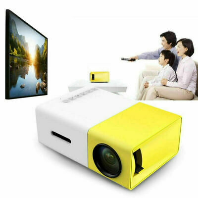 AU69.50 • Buy YG300 3D HD LED Mini Projector Portable Home Theater Cinema 1080P AV USB HDMI