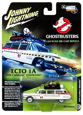 Johnny Lightning Ghostbusters Ecto 1:64 Scale Die Cast Not Hot Wheels • 18.99£