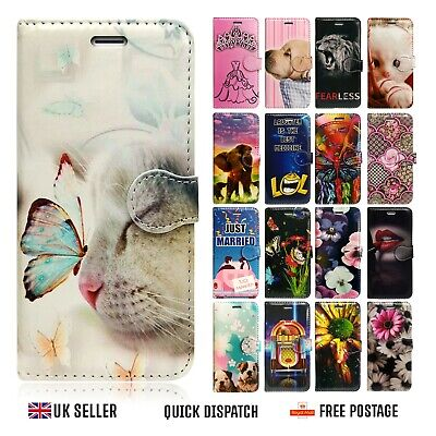 For Apple Iphone Models 6 7 8 Se 2nd 2020 Leather Wallet Card Book Case Cover • 3.95£