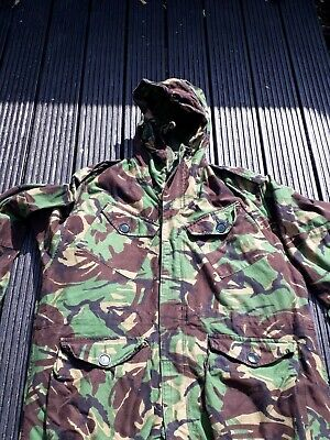 British Army Issue Falklands DPM Cold Weather Parka  & Liner Size 190/112 XL   • 59£