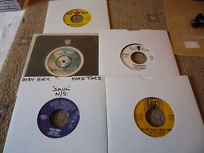 Northern Soul / Soul Lot X 5 Classic Sounds EX / NM Lorraine Ellison Bill Bush • 18£