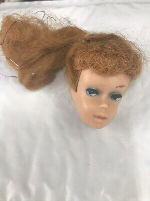 $ CDN98.66 • Buy Vintage 1962 Barbie Ponytail #6 & #7 Titian Doll Head Only--nice Condition