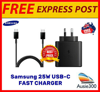 AU32.99 • Buy Genuine Samsung EP-TA800 25W Super Fast Wall Charger Note 20/10+/S20+/S21 Ultra