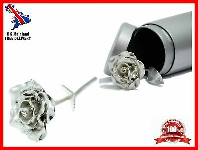 Tin 10th Wedding Anniversary Gifts 10 Year Everlasting Rose Hancrafted Casted • 27.39£