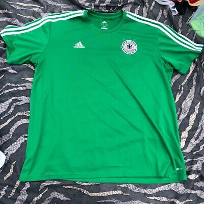 Rare Vintage Germany National Team Away Football Shirt XXXL 3XL Man Adidas Green • 21.95£